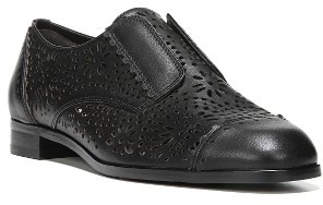 Women's Via Spiga Eliza Perforated Derby $195 thestylecure.com