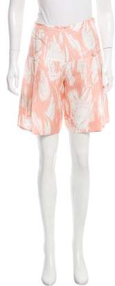 Yigal Azrouel Printed Knee-Length Shorts w/ Tags