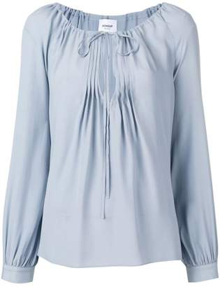 Dondup drawstring neck blouse