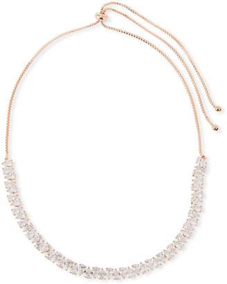 Fallon Monarch Jagged Edge Crystal Choker Necklace