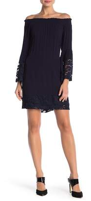 Robbie Bee Bell Sleeve Lace Dress