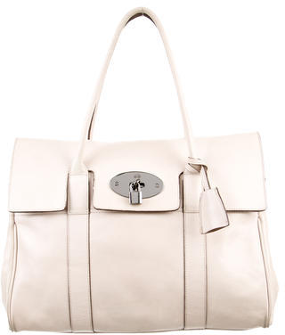 Mulberry Leather Bayswater Bag $480 thestylecure.com