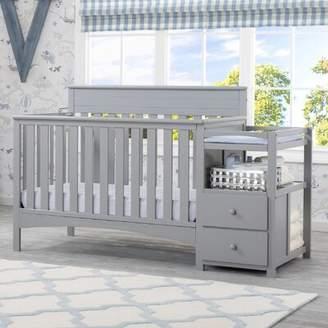 Delta Children Presley 3-in-1 Convertible Crib and Changer Delta Children