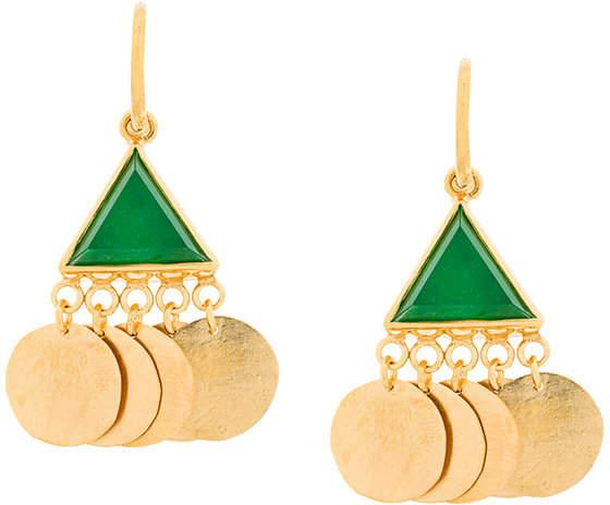 Katerina Makriyianni coin earrings