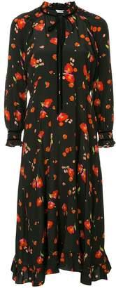 Vilshenko poppy print dress