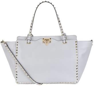 Valentino Leather Rockstud Tote Bag