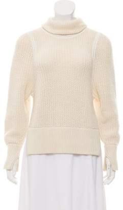 Helmut Lang Wool Turtleneck Sweater