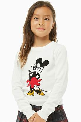 Forever 21 Girls Minnie Mouse Sweater (Kids)