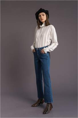 Sonia Rykiel Saint Germain Stretch-Denim Trousers