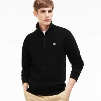 Lacoste Men's Stand Up Collar Sweatshirt