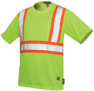 JCPenney Work King High-Visibility Traffic T-Shirt