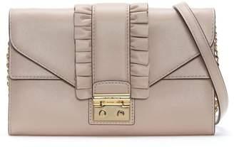 Michael Kors Sloan Soft Pink Leather Strap Wallet