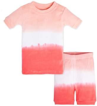 Burt's Bees Dip Dye Organic Short Sleeve Baby Pajamas