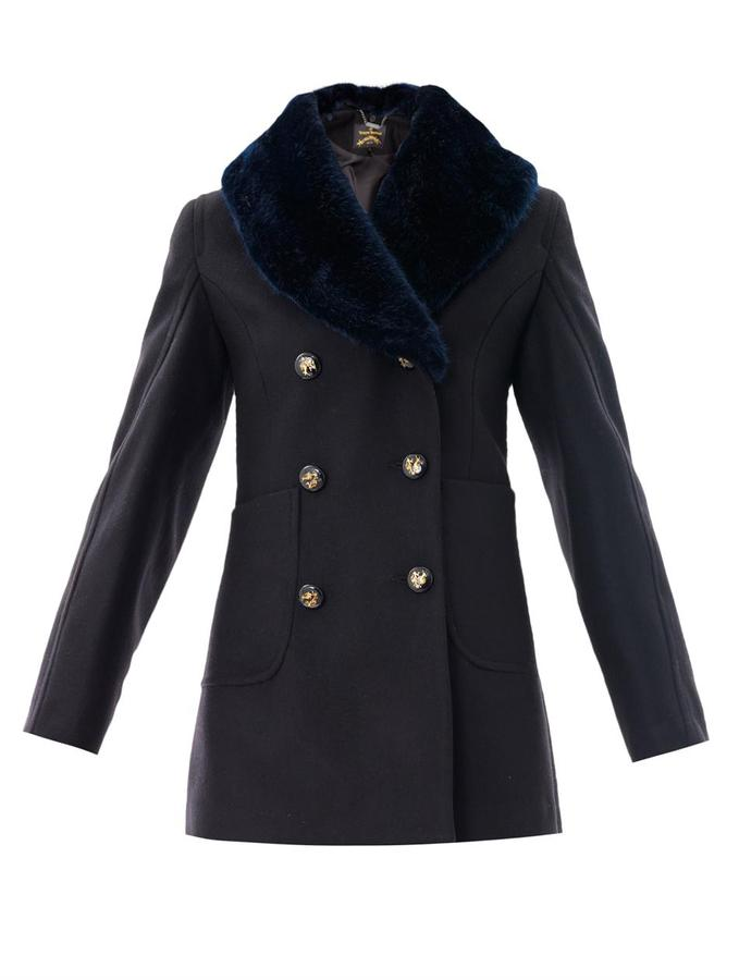 Vivienne Westwood Soma double-breasted peacoat