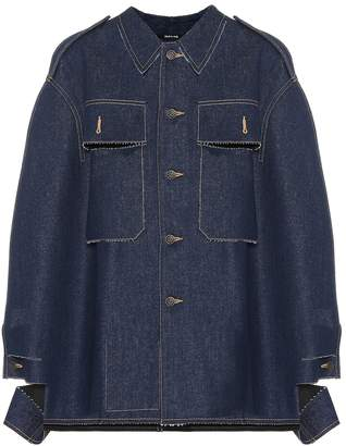 Maison Margiela Deconstructed denim poncho