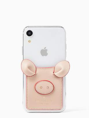 Kate Spade Pig sticker