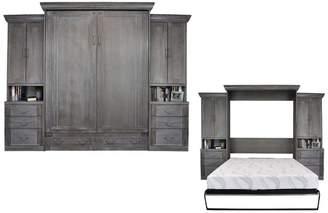 Rosecliff Heights Cedarville Queen Storage Murphy Bed