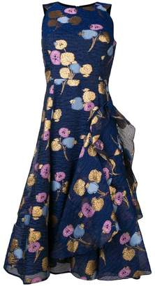 Peter Pilotto leaf jacquard dress