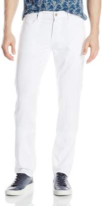 Hudson Jeans Men's Blake Slim Straight Jean In White 28
