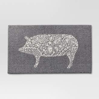 Threshold Kitchen Rug Pig