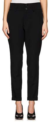 Yohji Yamamoto Regulation Women's Wool Slim Ankle Pants