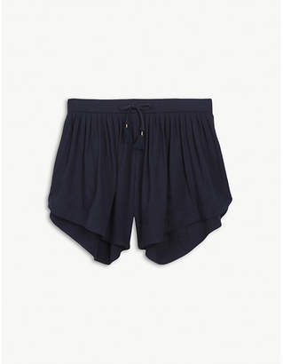 Chloé Tassel cotton jersey shorts 4-14 years