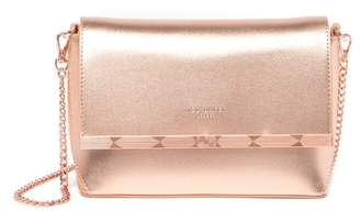 Ted Baker Melisaa Bow Embossed Leather Crossbody Bag