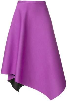 Chalayan asymmetrical midi skirt