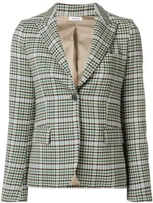 P.A.R.O.S.H. classic checked blazer