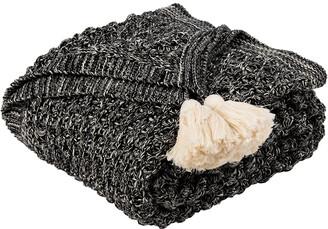 Safavieh Pennie Knit Tassel Throw