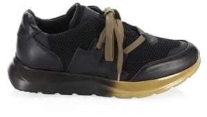 Marcelo Burlon County of Milan Men's Bai Runner Shoes - Black Gold - Size 39 (6)