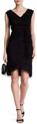 Marina Lace Tiered Dress $189 thestylecure.com