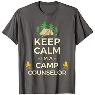 Keep Calm I'm A Camp Counselor T-Shirt