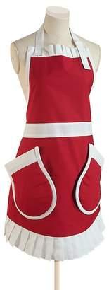 Berghoff Pinny Pockets Red\u002FWhite Apron