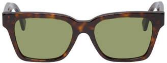 Super Tortoiseshell and Green America Sunglasses