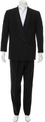 Giorgio Armani Double Breasted Shawl Collar Tuxedo