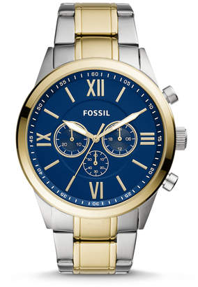 Fossil Flynn Chronograph Two-Tone Stainless Steel Watch