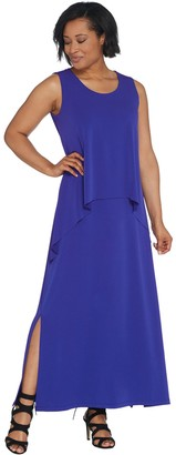 Blue And Red Maxi Shopstyle