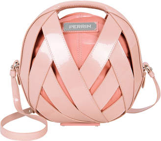 Perrin Le Petit Panier Pink Patent Leather Bag