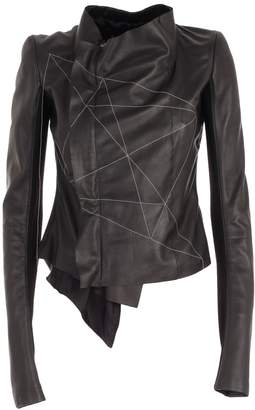 Rick Owens Geometric Wrap Jacket