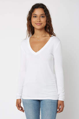 Z Supply Fitted Long Sleeve Tee