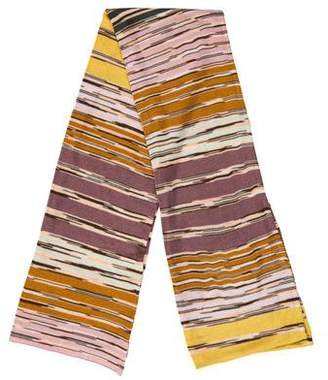 Missoni Patterned Fine Knit Scarf