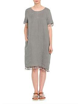 Marc O'Polo Marco Polo Short Sleeve Pigment Dress