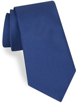 Men's Ted Baker London Solid Silk Tie $95 thestylecure.com