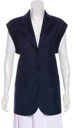 Sonia Rykiel Wool Pinstripe Vest