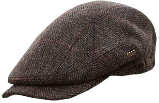 Mucros Weavers Men's Quiet Man Cap, Irish Tweed Flat Cap