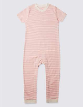 Marks and Spencer Pure Cotton Sleeping Suit (3-8 Years)