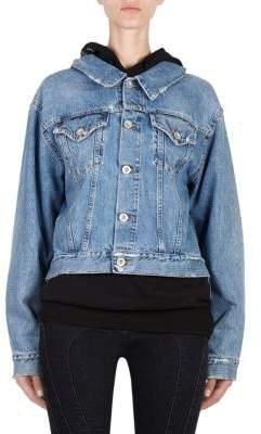 Taverniti So Ben Unravel Project Denim Backwards Jacket