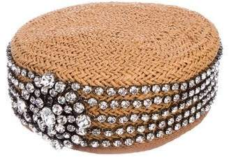 Gucci 2019 Papier Crystal Hat