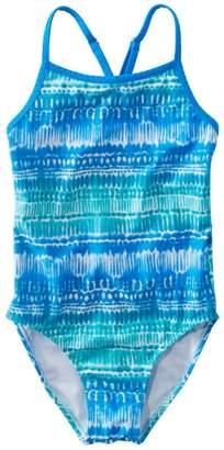 ded45b776e2ef L.L. Bean L.L.Bean Girls Wave Jumper Swimsuit, One-Piece Print